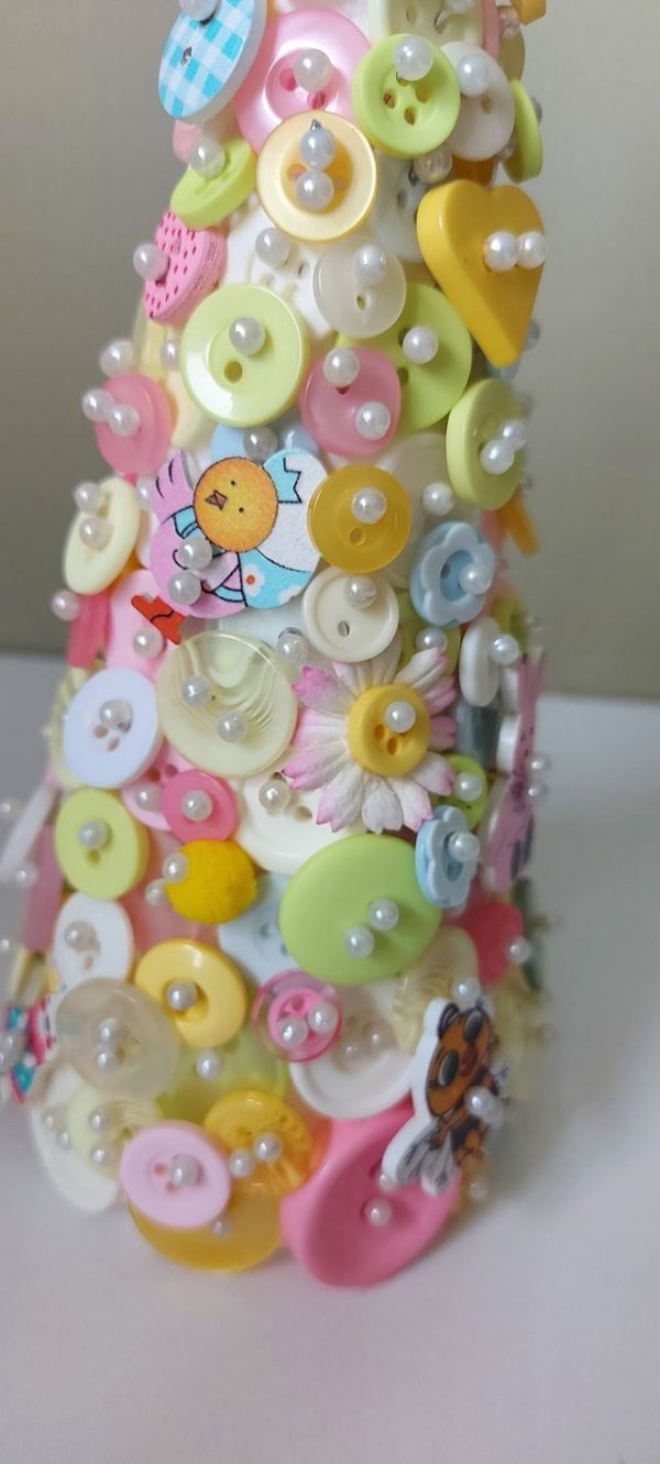 Easter Button Tree Craft Kit