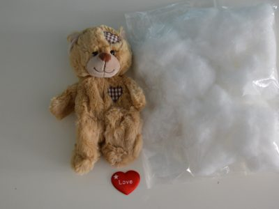 "Create your own ""Patch"" Teddy Bear Kit (No Sew)"