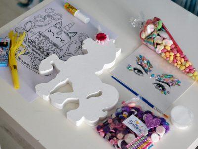 Unicorn Virtual party Craft Kit Isle of Wight