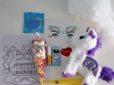 No Sew Stuff your own Unicorn Virtual Party Pack Isle of Wight